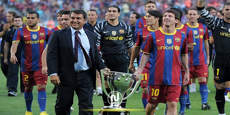 خوان لابورتا: أستطيع إقناع ميسي بالبقاء في برشلونة
