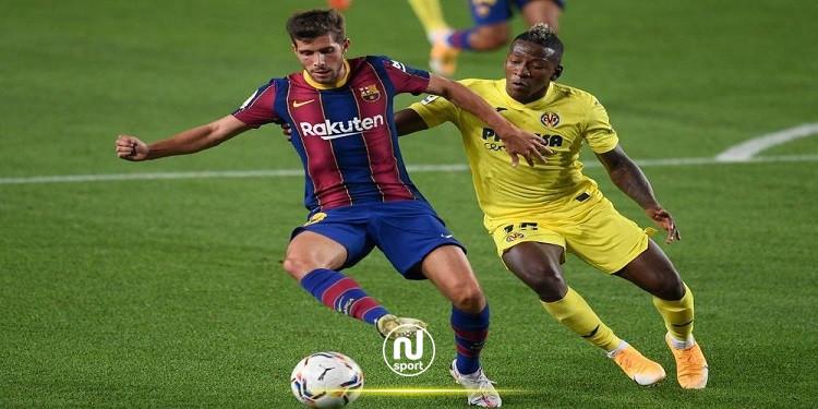 برشلونة يعلن إصابة سيرجي روبرتو بفيروس كورونا