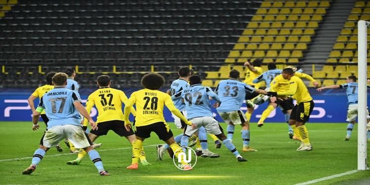 دوري أبطال أوروبا: دورتموند يتأهل إلى ثمن النهائي