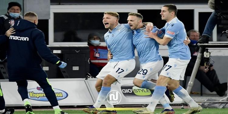 الدوري الإيطالي: لاتسيو يحسم مواجهة الدربي أمام روما