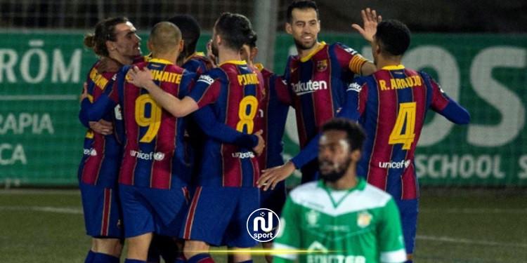 كأس ملك إسبانيا: برشلونة يفلت من فخّ 'كورنيا' قاهر أتلتيكو مدريد