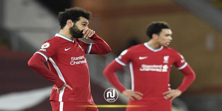 البريمرليغ: ليفربول ينقاد للهزيمة أمام ضيفه بيرنلي
