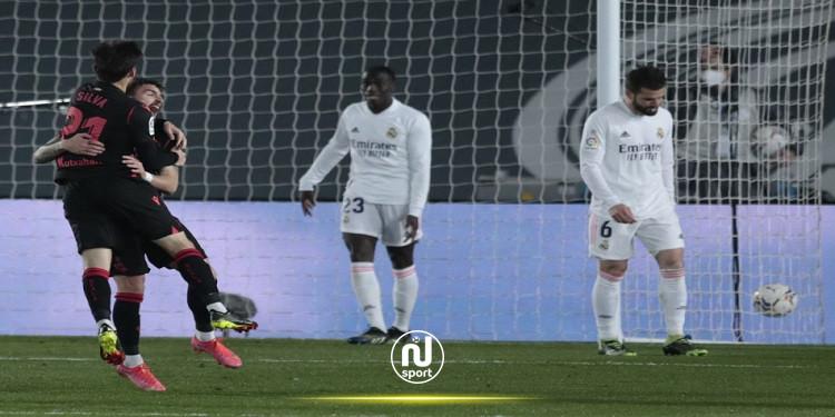الدوري الإسباني: ريال مدريد ينجو من هزيمة محققة أمام ريال سوسيداد