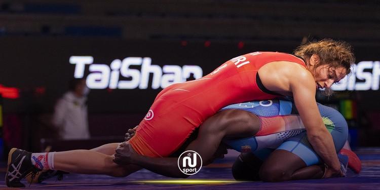 مصارعة: مروى العامري تتأهل إلى أولمبياد طوكيو