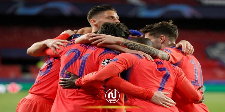 أبطال أوروبا: تشيلسي يضع قدما في نصف النهائي