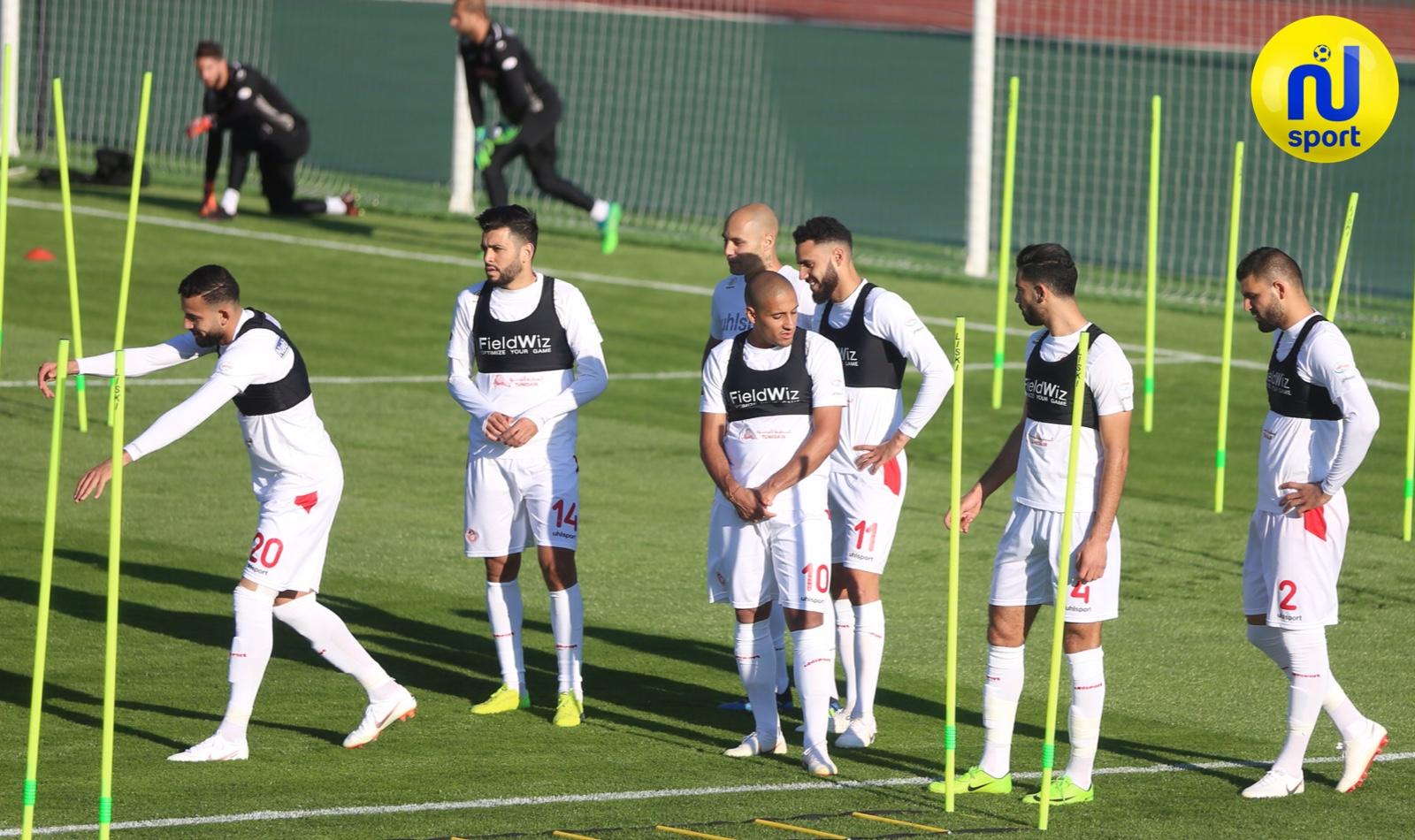 صور تدريبات المنتخب الوطني التونسي