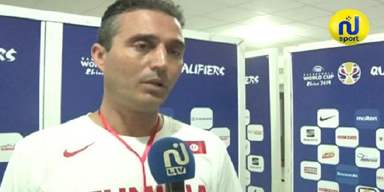 تصريح مساعد مدرب المتخب التونسي لكرة السلة قبل مواجهة المنتخب التشادي