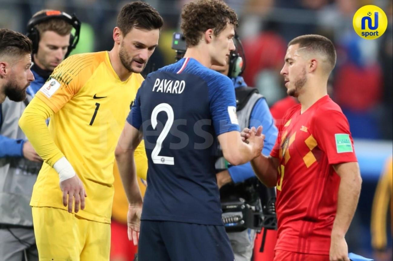 صور مباراة فرنسا و بلجيكا