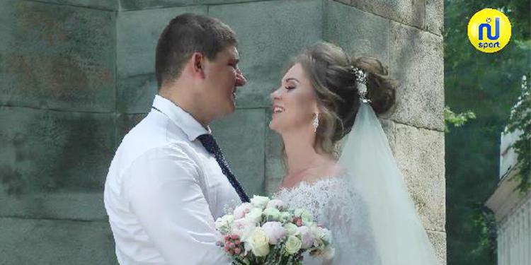 حفل زفاف على الطريقة الروسية !