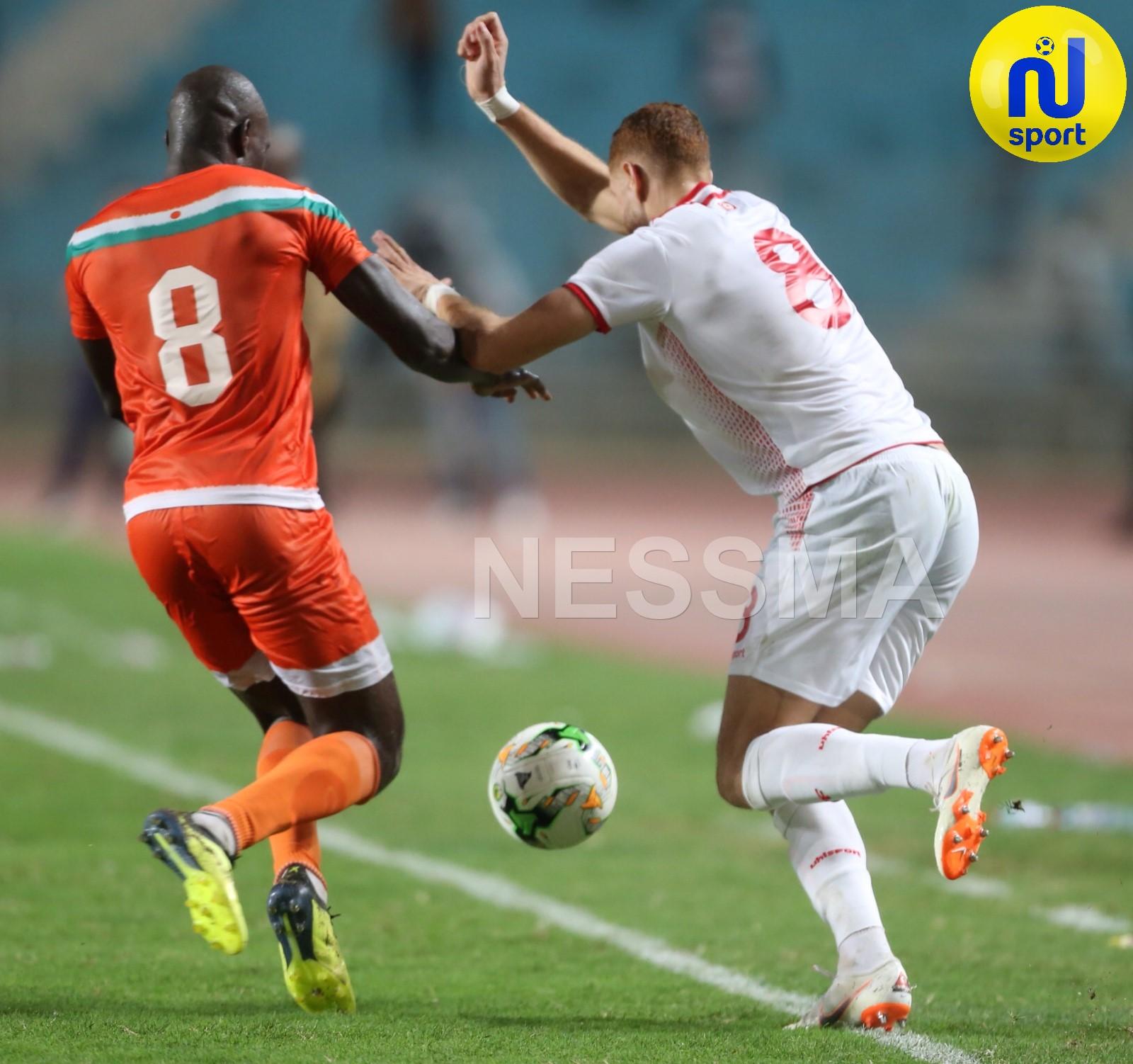 صور شوط الثاني من مباراة المنتخب الوطني التونسي و المنتخب النيجر