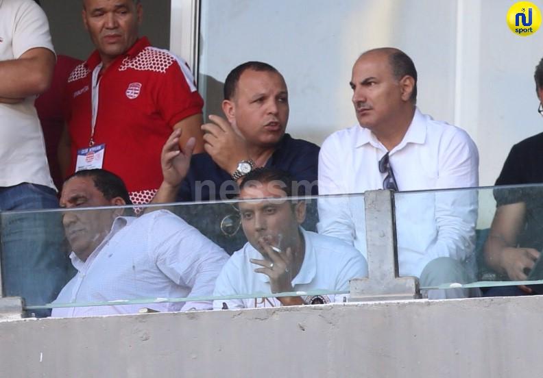 صور الشوط الاول لمباراة النادي الفريقي والملعب التونسي