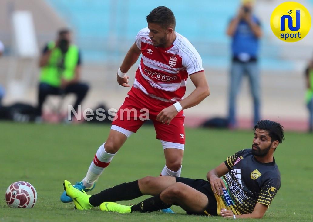 صور الشوط الأول لمباراة النادي الإفريقي و النادي البنزرتي