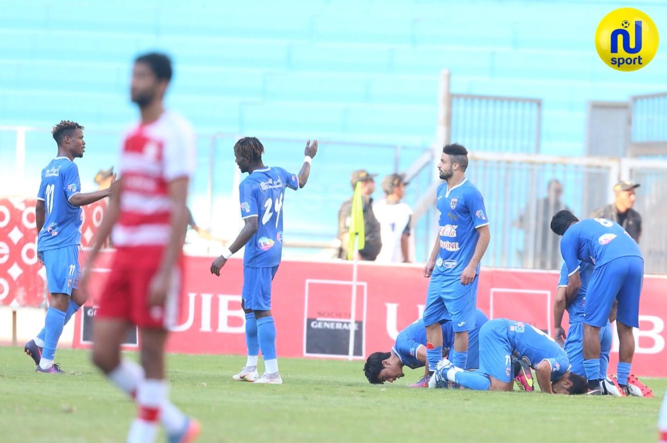 صور الشوط الثاني لمباراة النادي الإفريقي والملعب التونسي