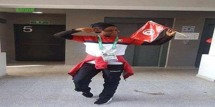 غفران بلخير تهدي تونس ميدالية ذهبية في الألعاب الأولمبية للشباب