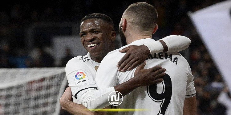 فصل بنزيما عن فينيسيوس في تدريبات ريال مدريد