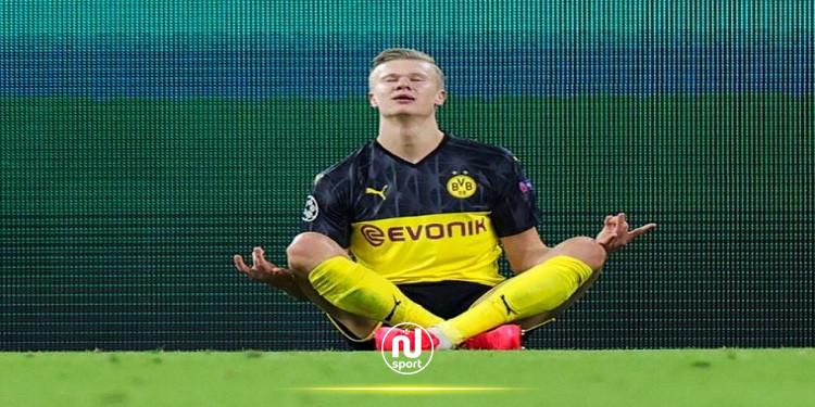 برشلونة يخطط لخطف هالاند من ريال مدريد