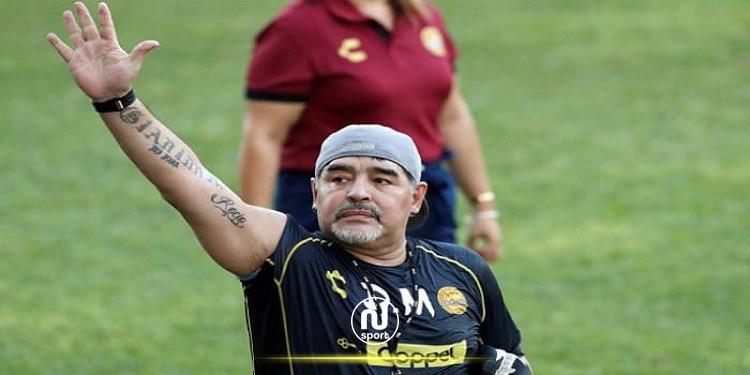 """رئيس نابولي: """" ندرس تغيير اسم ملعبنا إلى مارادونا """""""