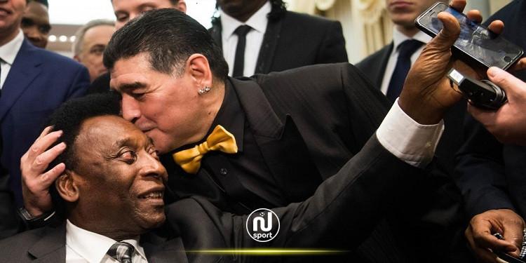 بيليه بعد وفاة مارادونا: أتمنى أن نلعب معًا في السماء