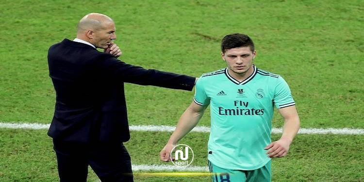 فرانكفورت يُعلن التعاقد مع يوفيتش من ريال مدريد