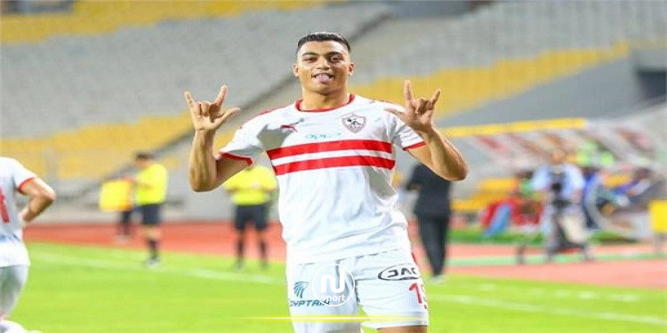 كاف يقرر إيقاف حسين الشحات ومصطفى محمد 4 مباريات