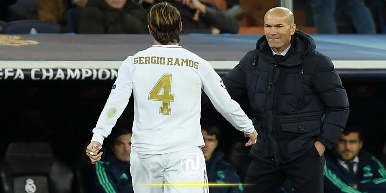 زيدان يتدخل لحل مشكلة راموس مع ريال مدريد