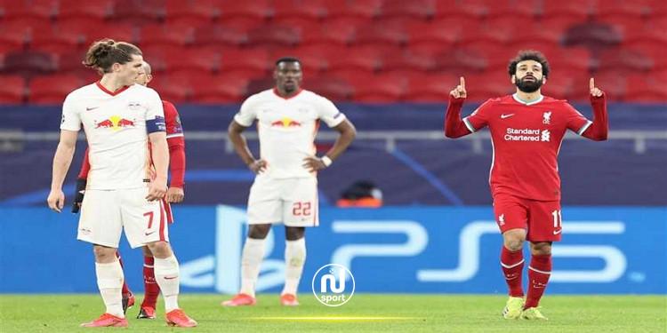 دوري أبطال أوروبا: ليفربول يترشح الى الدور ربع النهائي على حساب لايبزيغ