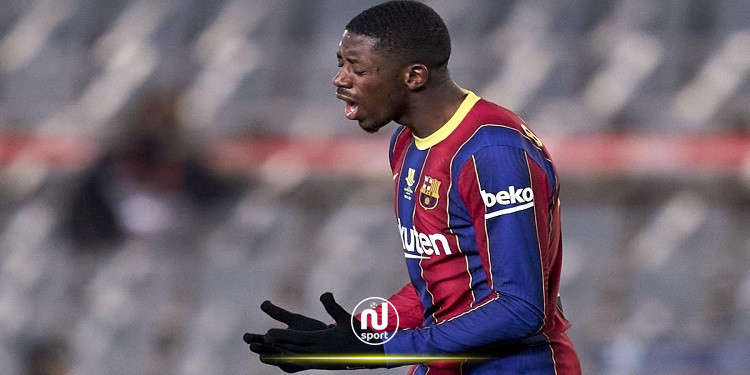 برشلونة يعلن عن إصابة عثمان ديمبيلي