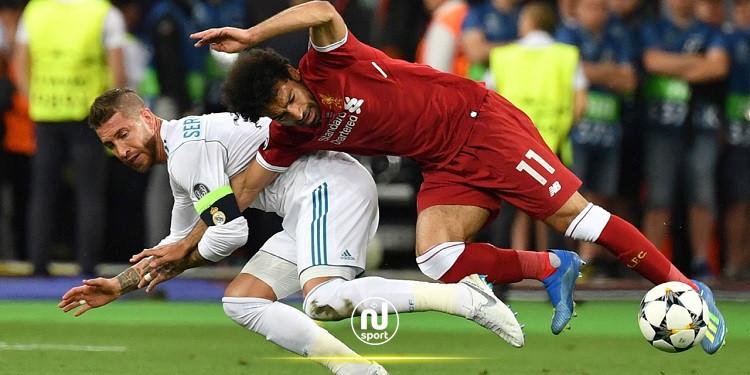 ريال مدريد يُعلن إصابة راموس قبل مباراة ليفربول