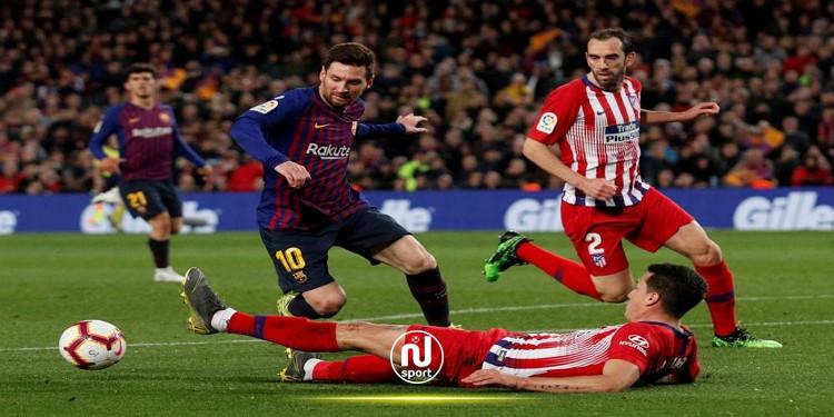 الدوري الاسباني: برشلونة يواجه أتلتيكو مدريد اليوم