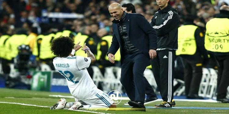خلاف بين زيدان ومارسيلو في تمارين ريال مدريد
