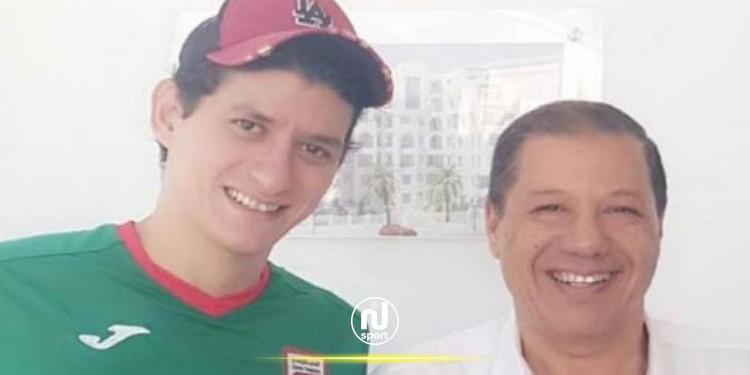 هيثم العيوني يجدد عقده مع الملعب التونسي