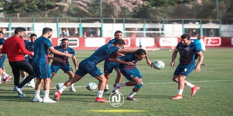 الأهلي المصري يستعيد لاعبه قبل قمة الترجي الرياضي