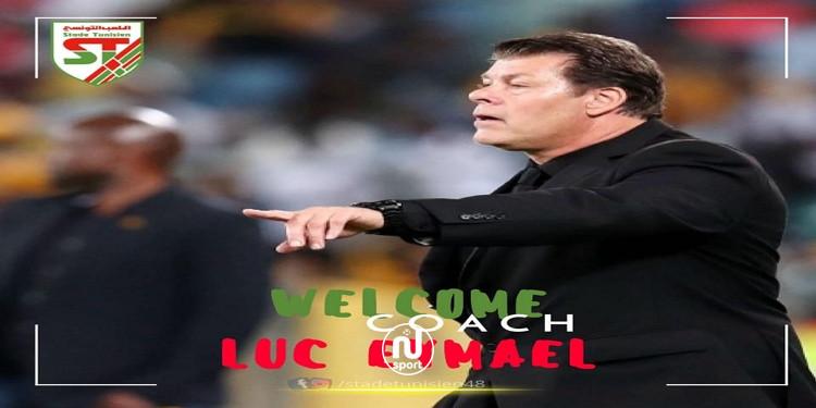 البلجيكي لوك ايماييل مدربا جديدا للملعب التونسي