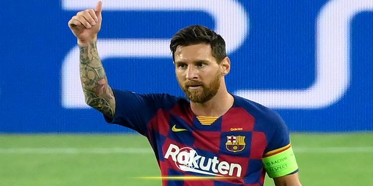 ميسي يوافق على مواصلة المشوار مع برشلونة