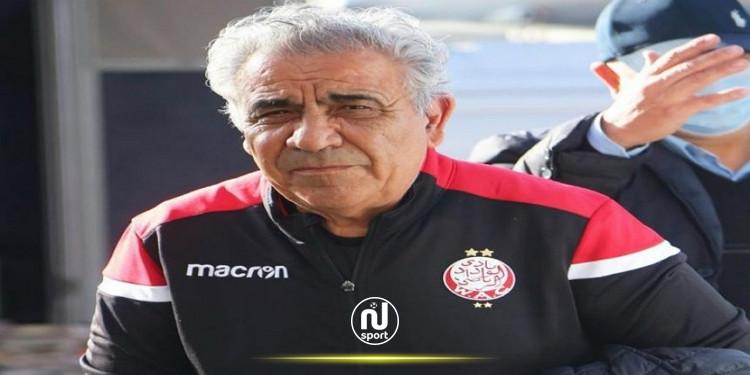 فوزي البنزرتي يقترب من حسم لقب البطولة المغربية