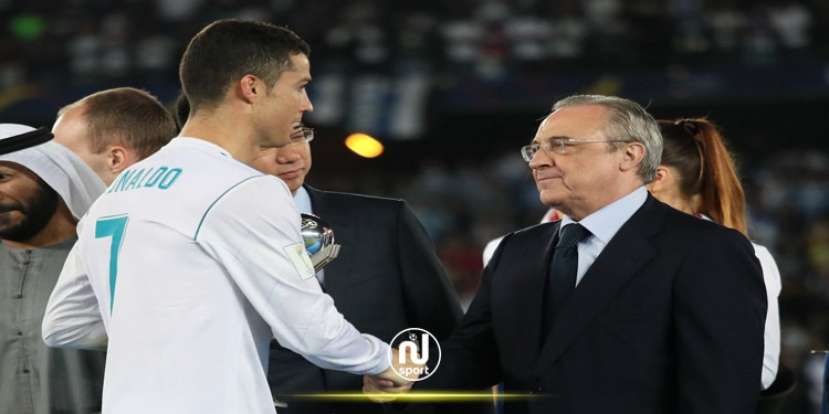 رئيس ريال مدريد يهين كريستيانو رونالدو!