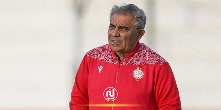 فوزي البنزرتي يؤجل الحسم في مصيره مع الوداد المغربي