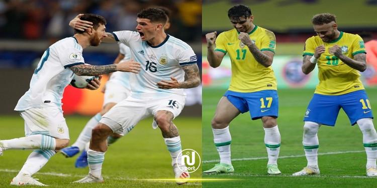 ريو تسمح بحضور جماهيري محدود لنهائي كوبا أمريكا بين البرازيل والأرجنتين
