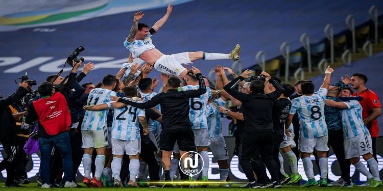 كوبا أمريكا: الأرجنتين تفوز على البرازيل وتتوج بالكأس