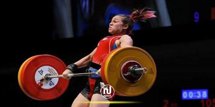 اولمبياد طوكيو: رفع الاثقال - نهى الاندلسي في المرتبة الثامنة