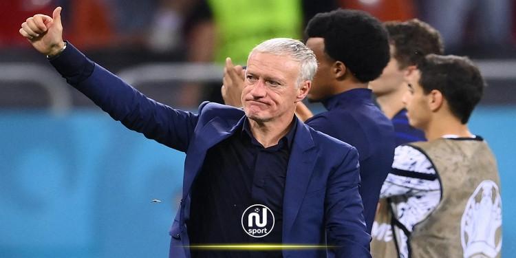 ديشامب يواصل مهامه على رأس المنتخب الفرنسي