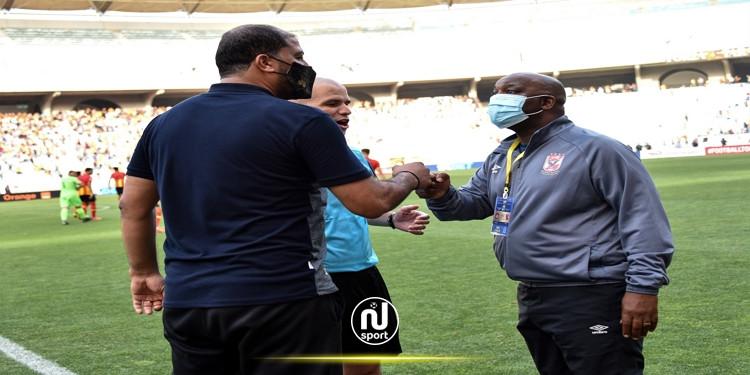موسيماني يتطلع لتحقيق انجاز معين الشعباني في دوري أبطال افريقيا