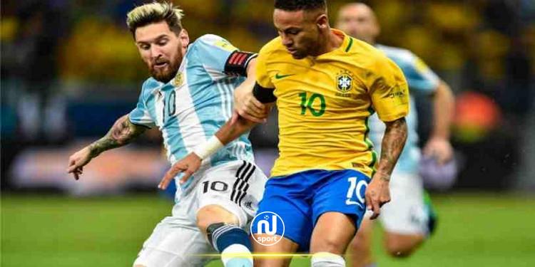 نهائي كوبا أمريكا: موعد مباراة البرازيل والأرجنتين