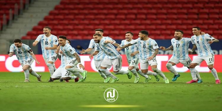 الأرجنتين تصعد الى نهائي كوبا أمريكا لمواجهة البرازيل