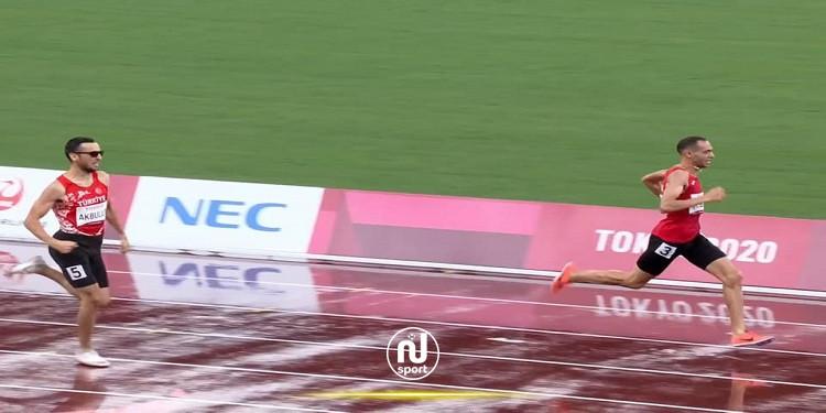الألعاب البارالمبية : تأهل رؤي الجبابلي الى نهائي سباق 400م