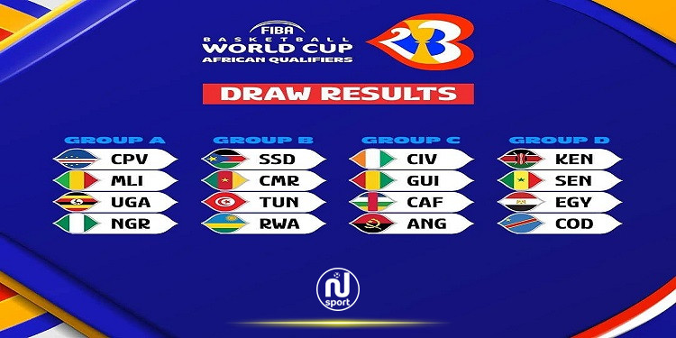 تصفيات مونديال كرة السلة: المنتخب التونسي في المجموعة الثانية
