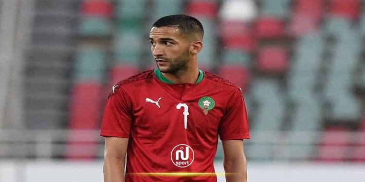 مدرب المغرب يكشف سبب استبعاد حكيم زياش