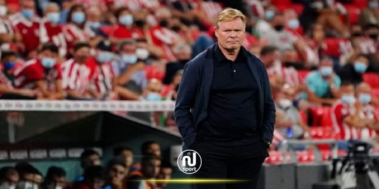 مدرب برشلونة يطالب أنصار الفريق بالمساندة