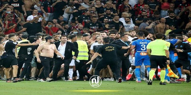 رابطة الدوري الفرنسي تقرر إعادة مباراة نيس ومارسيليا