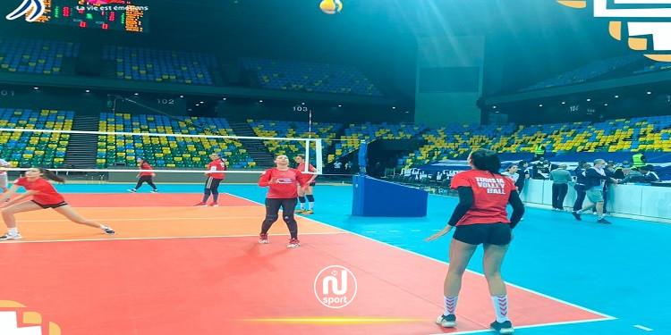 بطولة افريقيا للكرة الطائرة سيدات: المنتخب التونسي يحقق فوزه الأول